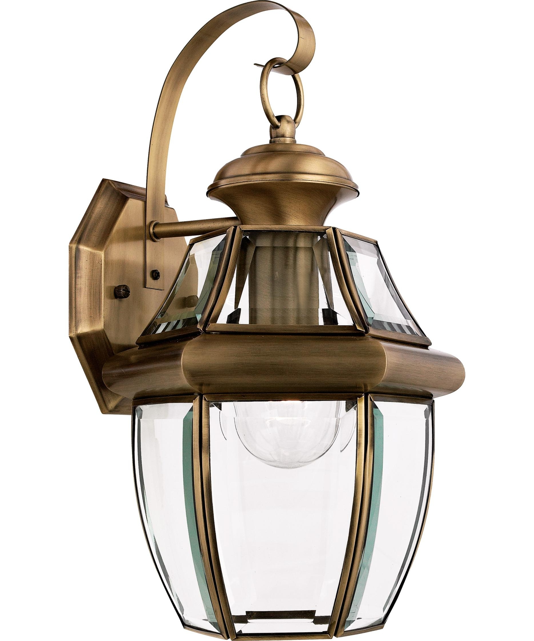 Quoizel Outdoor Wall Lighting Within Latest Quoizel Ny8316 Newbury 9 Inch Wide 1 Light Outdoor Wall Light (View 9 of 20)