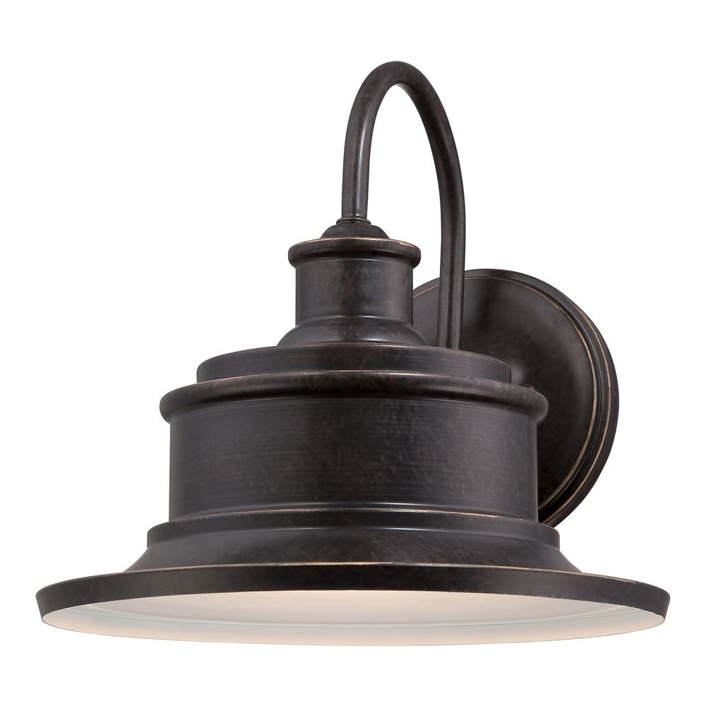 Quoizel Seaford Imperial Bronze Outdoor Wall Light (Gallery 5 of 20)