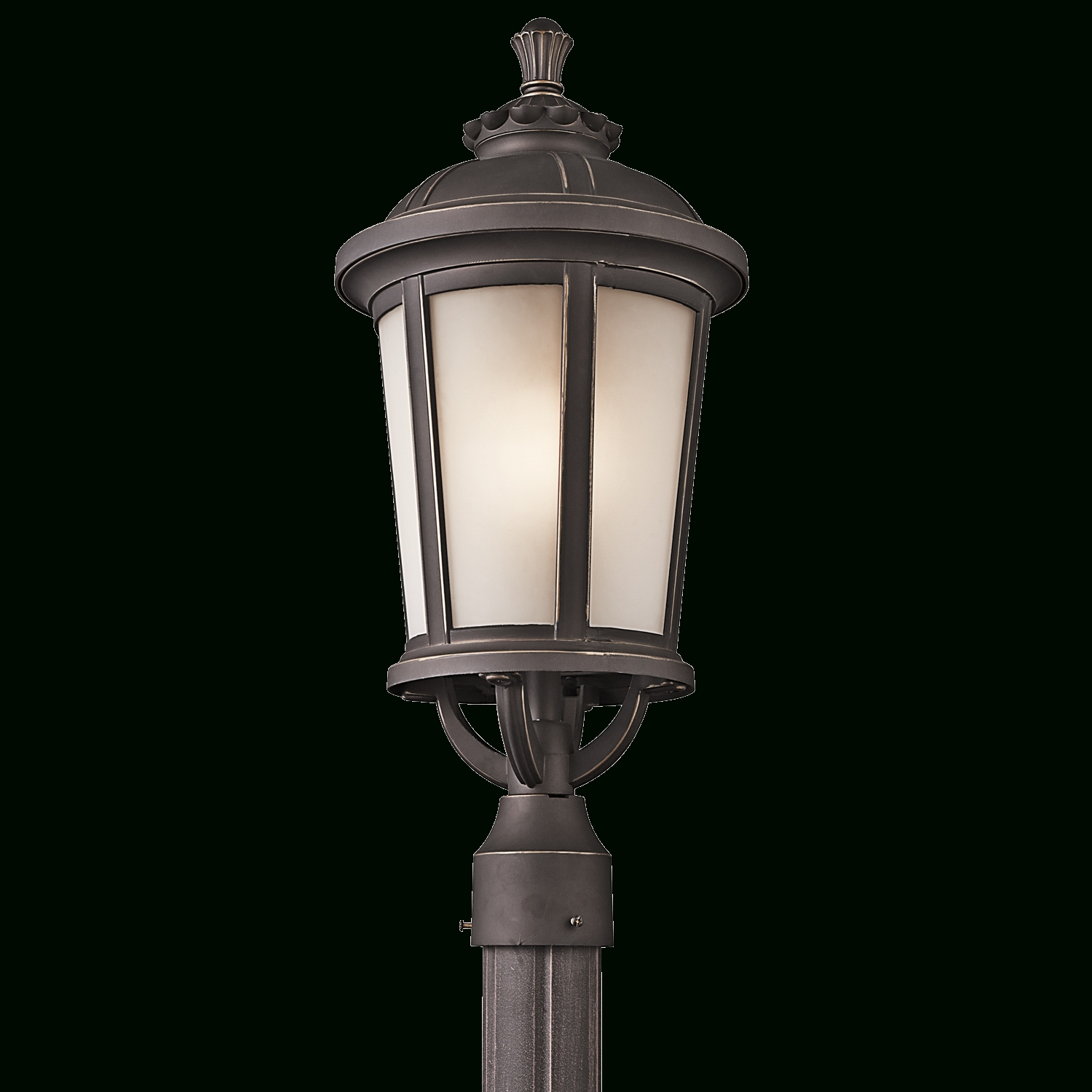 Ralston Collection 1 Light Outdoor Post In Rubbed Bronze With Famous Contemporary Outdoor Post Lighting (View 18 of 20)
