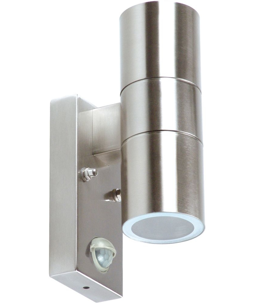 Recent Argos Outdoor Wall Lighting Intended For Buy Ranex Arezzo Double Outdoor Wall Light With Motion Detector At (View 9 of 20)