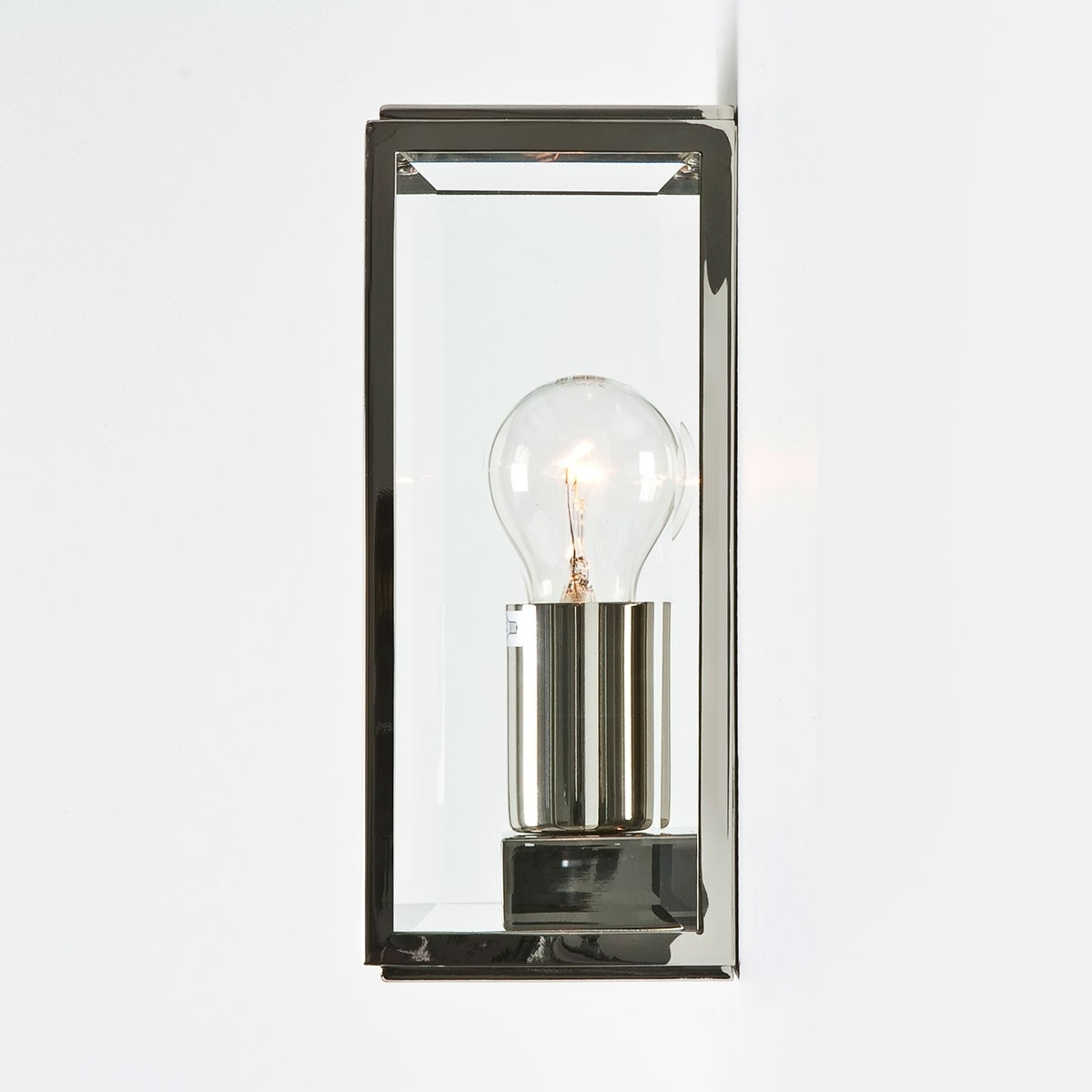 Recent Astro Homefield Polished Nickel Outdoor Wall Light At Uk Electrical With Nickel Polished Outdoor Wall Lighting (View 14 of 20)