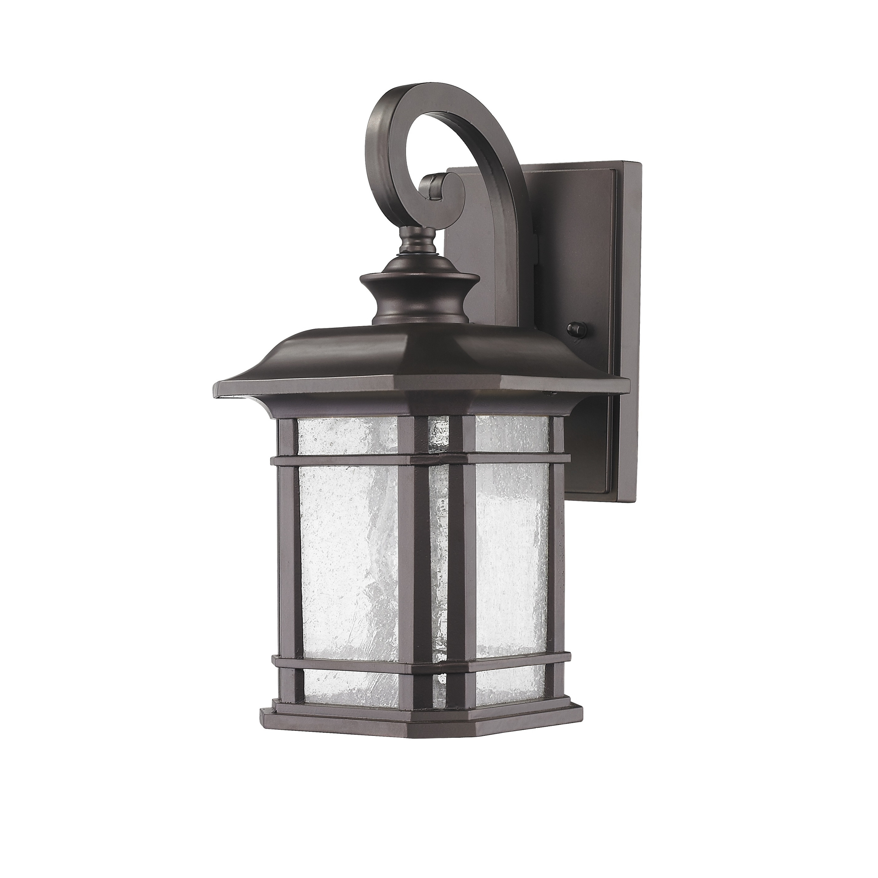 Recent Battery Operated Outdoor Lights At Wayfair Throughout Post Lights Wayfair Cottage Onion 1 Light Outdoor Lantern ~ Loversiq (View 16 of 20)