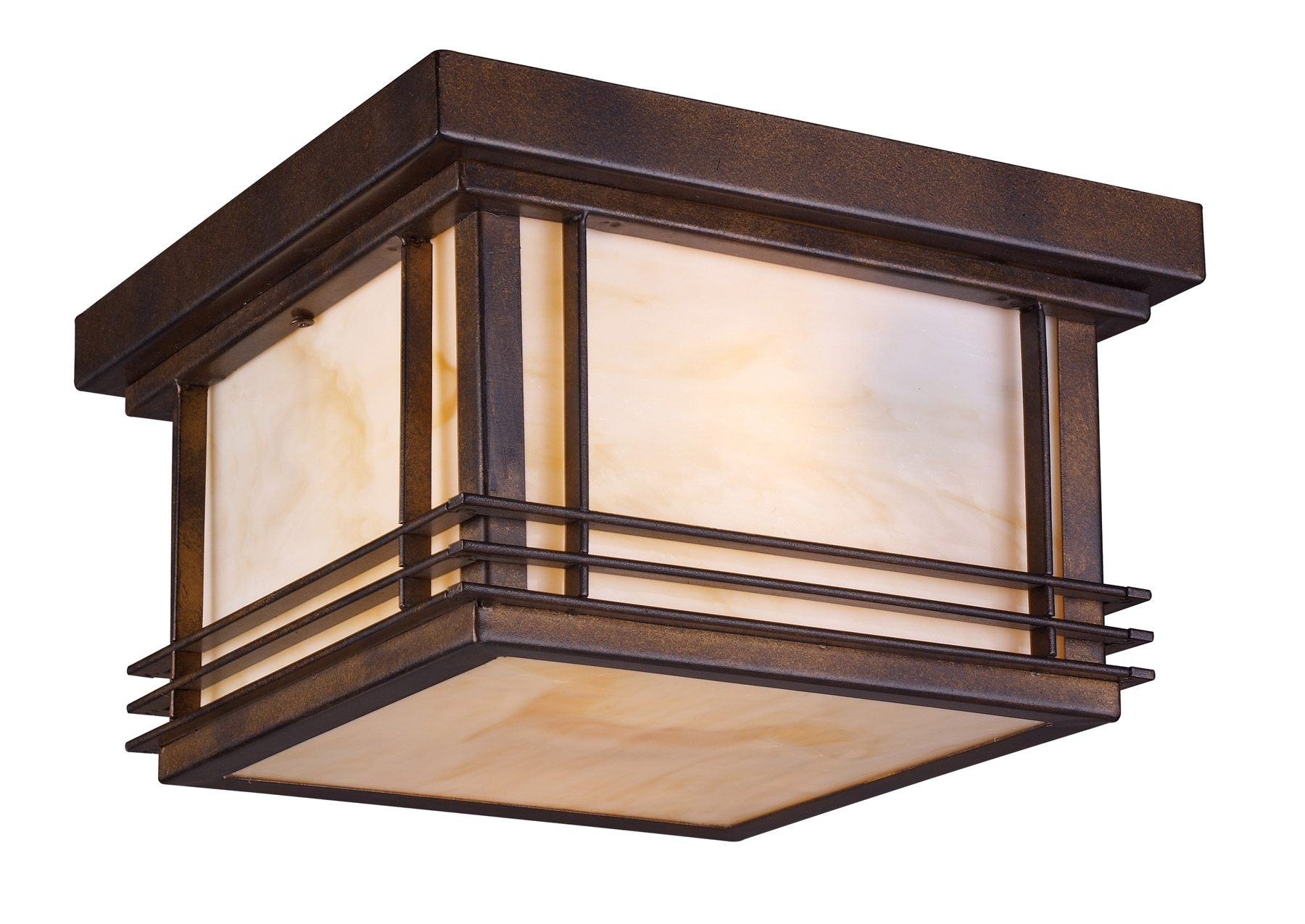Recent Craftsman Outdoor Ceiling Lights Within Craftsman Style Hanging Porch Light (View 2 of 20)