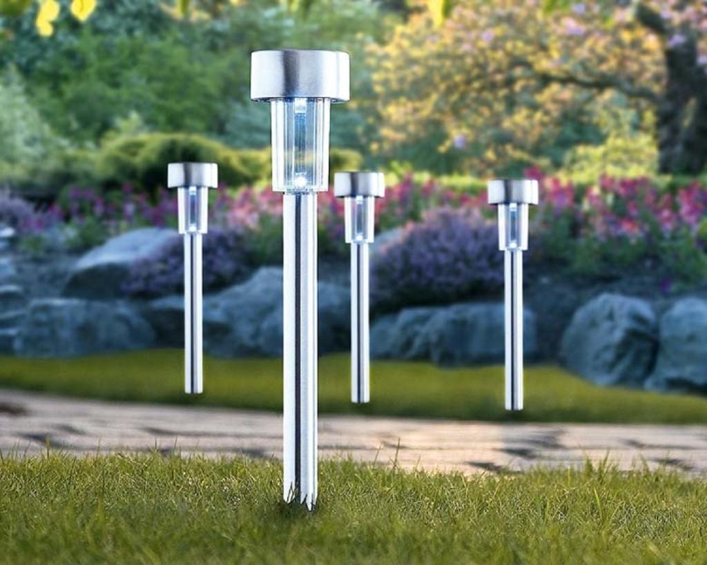 Recent Design Outdoor Solar Light Fixtures — The Mebrureoral Design Regarding Modern Led Solar Garden Lighting Fixture (View 8 of 20)