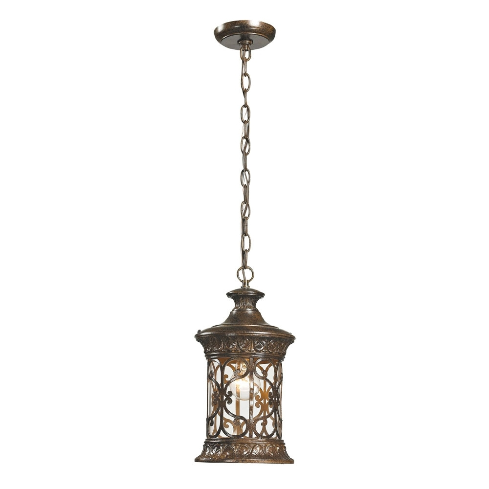Recent Elk 45083 1 Orlean Traditional Hazelnut Bronze Exterior Lighting Intended For Traditional Outdoor Ceiling Lights (View 13 of 20)