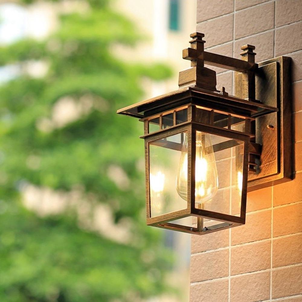 Recent European Outdoor Wall Lighting Throughout European Style Outdoor Wall Lamp Waterproof Special Outdoor Villa (View 10 of 20)