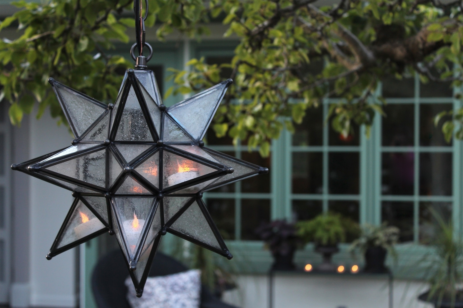 Recent Furnitures. Amazing Star Chandelier: The Chandelier Made Of Glass In Outdoor Hanging Star Lights (Gallery 20 of 20)