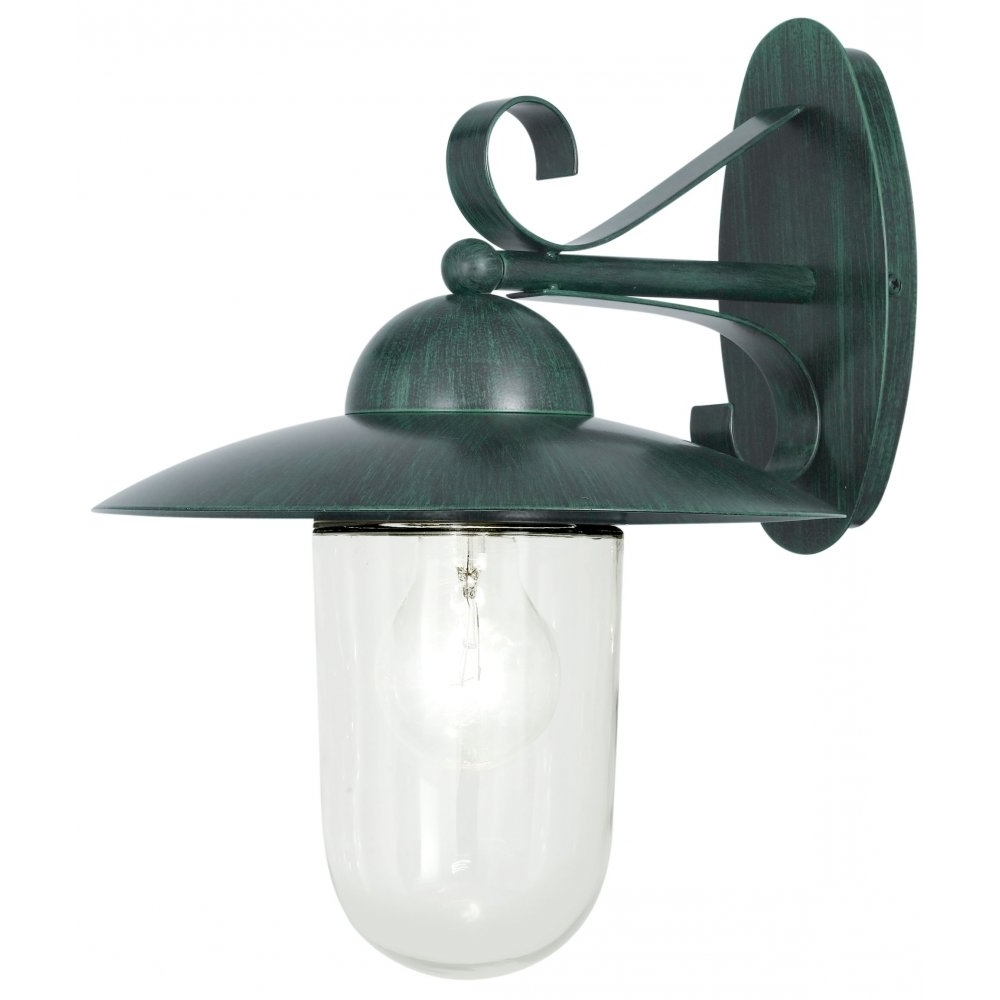 Recent Green Outdoor Wall Lights Intended For Outdoor Wall Lights Green ~ Trweb For . (Gallery 6 of 20)