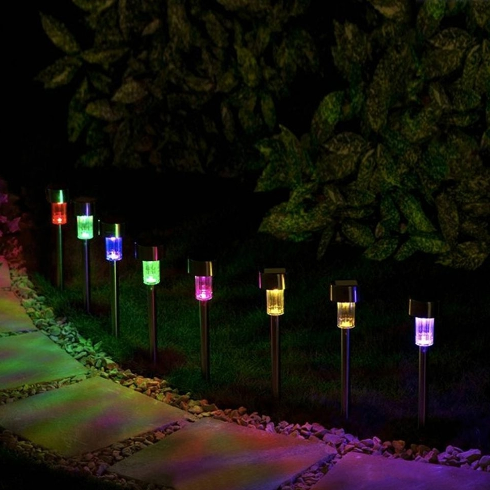 Recent Home Lighting : Pathway Lights Christmas Solar At Target Led Home With Modern Solar Driveway Lights At Target (View 17 of 20)