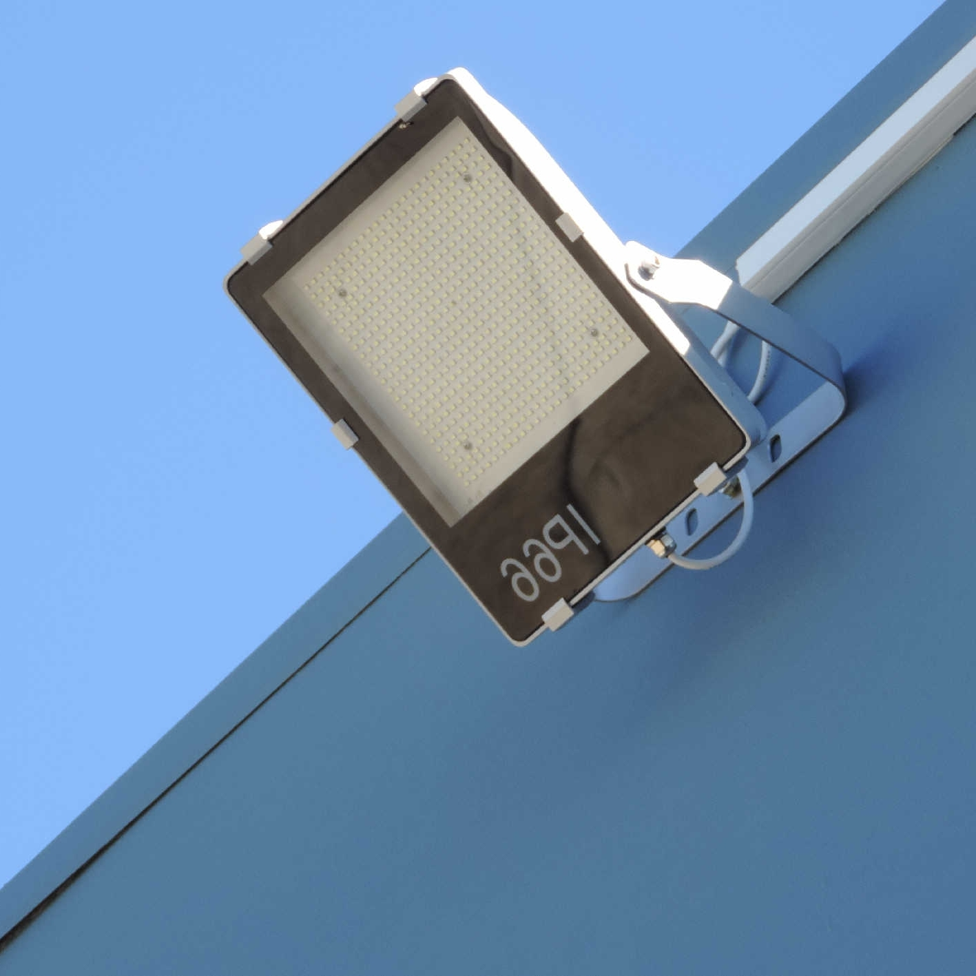 Recent Light : Black Wall Mounted Flood Lights Blue Simple Classic With Regard To Outdoor Wall Flood Lights (Gallery 19 of 20)