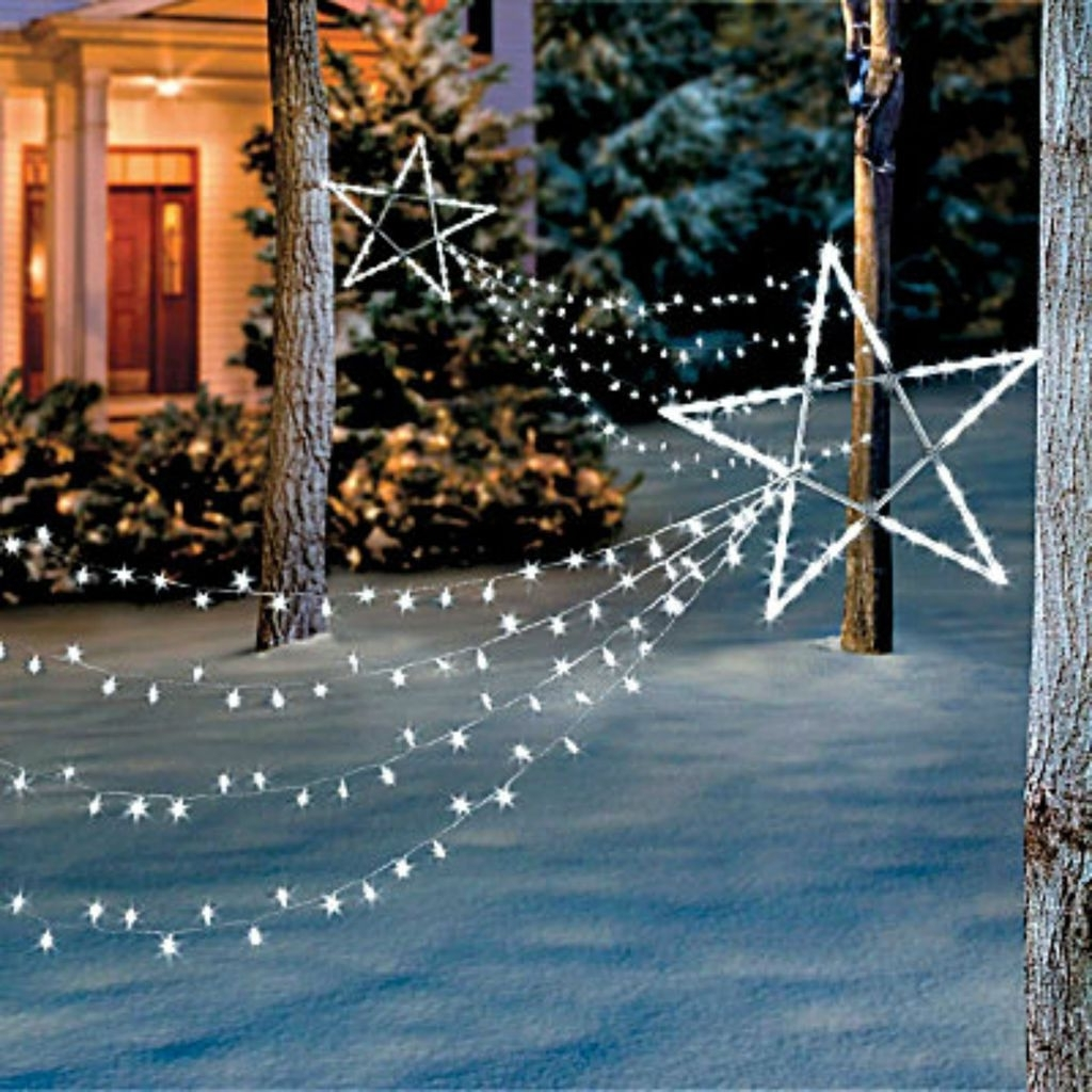 Recent Lighted Outdoor Christmas Decorations In Yard, Garden (View 17 of 20)