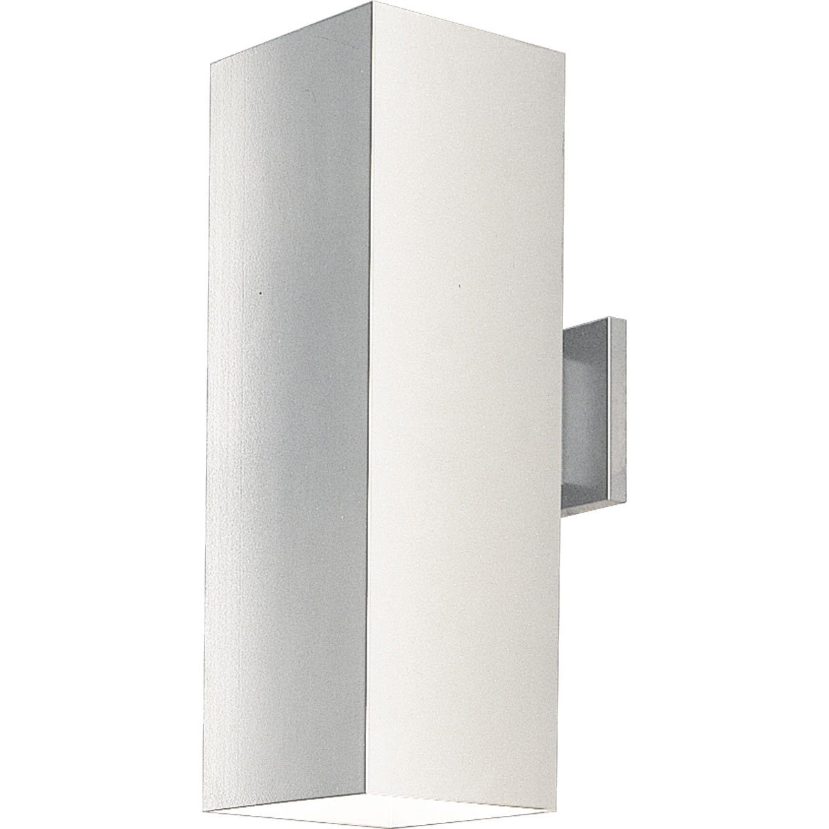 Recent Lighting P5644 30 Square Outdoor Wall Mount Fixture Within White Outdoor Wall Mounted Lighting (Gallery 18 of 20)