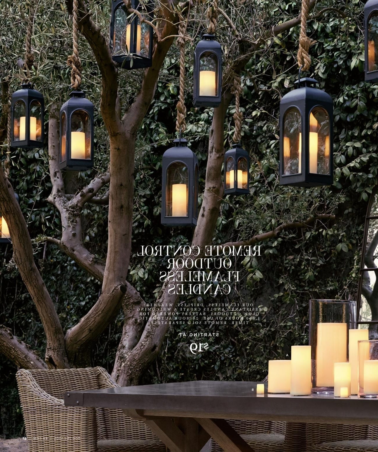 Recent Outdoor Hanging Lanterns For Trees Intended For If I Could Find Something Like This That Is Weatherproof And Solar (View 4 of 20)