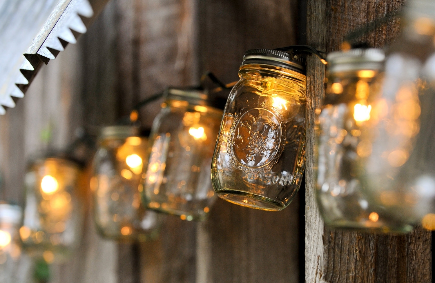 Recent Outdoor Hanging Mason Jar Lights Within 7 Lighting Ideas That Will Make Your Yard Shine (View 20 of 20)