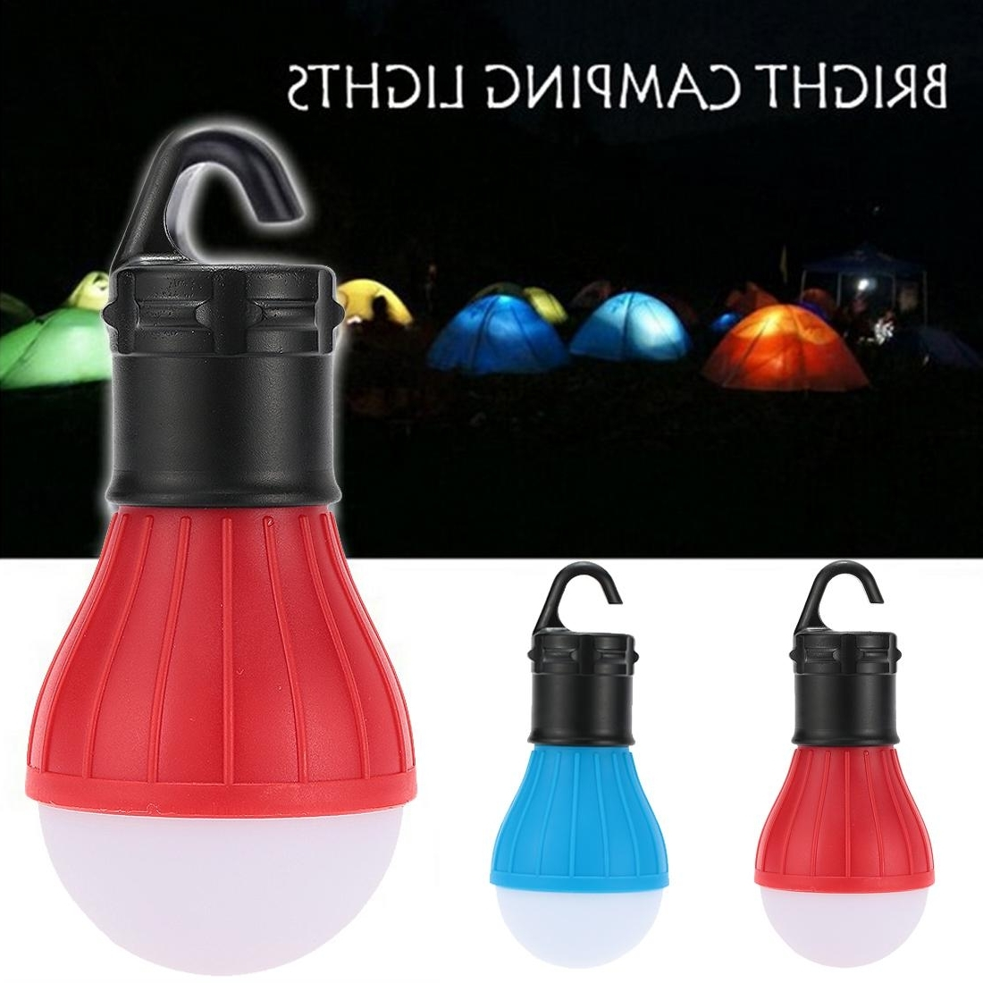 Recent Outdoor Hanging Plastic Lanterns Regarding Wholesale  New Soft Light Outdoor Hanging Led Camping Tent Light (View 18 of 20)