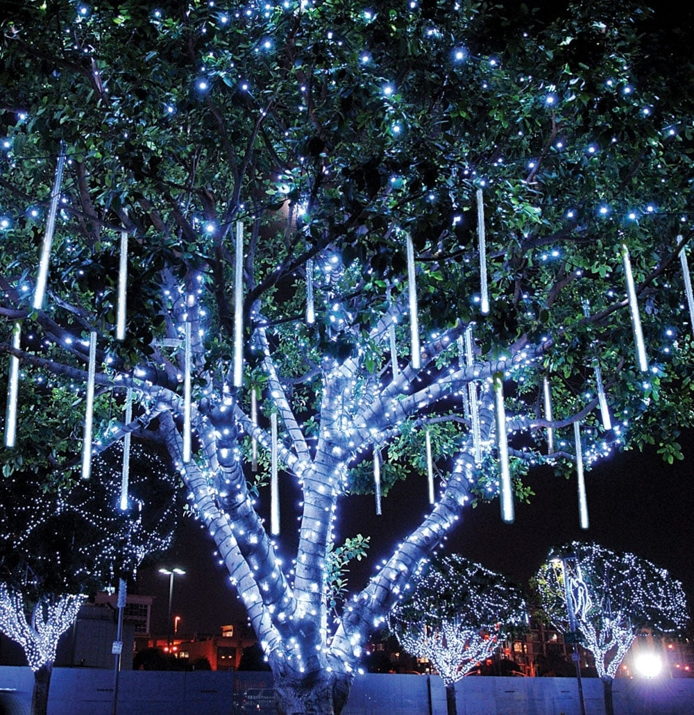 Recent Outdoor Low Voltage Hanging Tree Lights In Diy : Innovative Ideas  For Outdoor Christmas Decorations