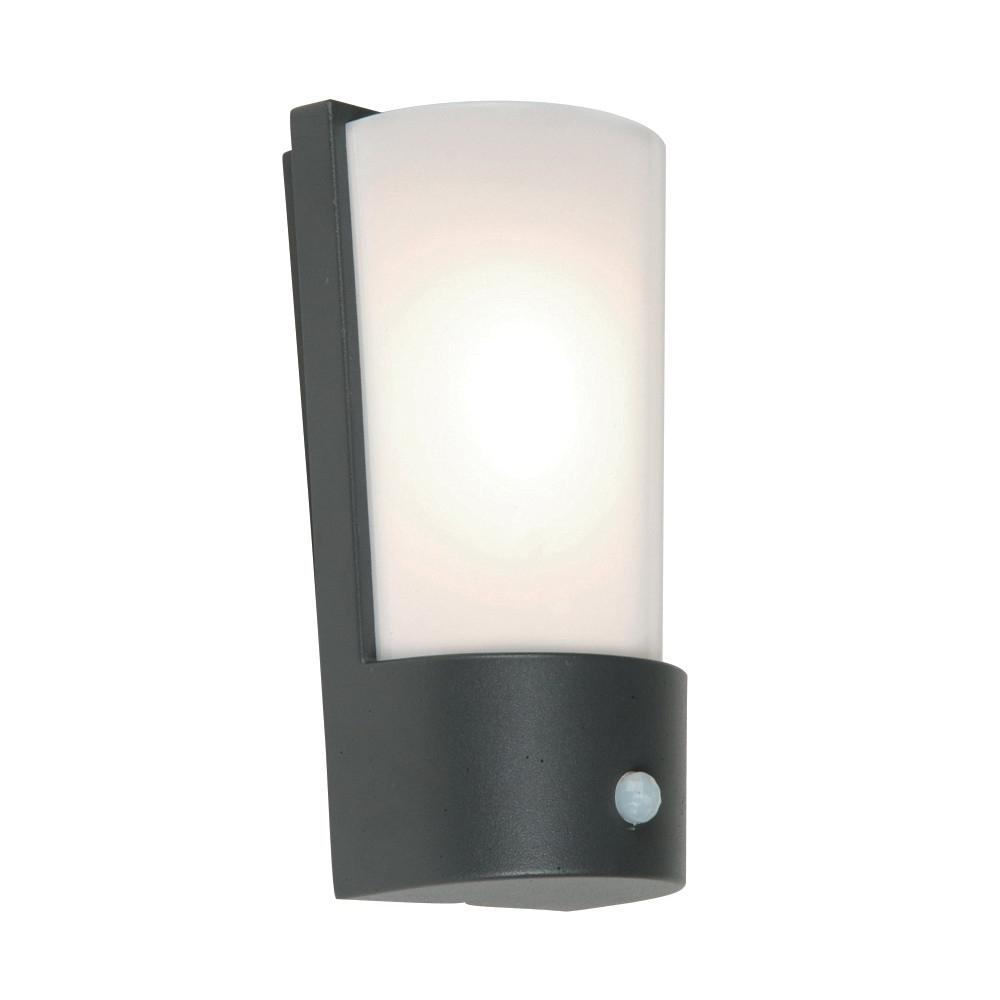 Recent Outdoor Pir Wall Lights For Azure Outdoor Dark Grey Wall Lantern With Pir Motion Sensor (View 8 of 20)