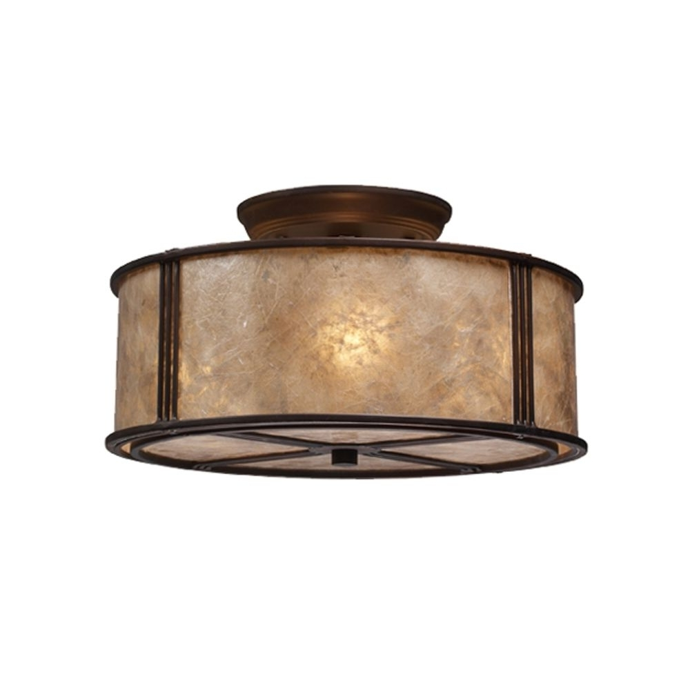 Recent Outdoor Semi Flush Ceiling Lights Within Lighting : Fly Fishing Flushunt Outdoor Ceiling Light Lighting (View 14 of 20)