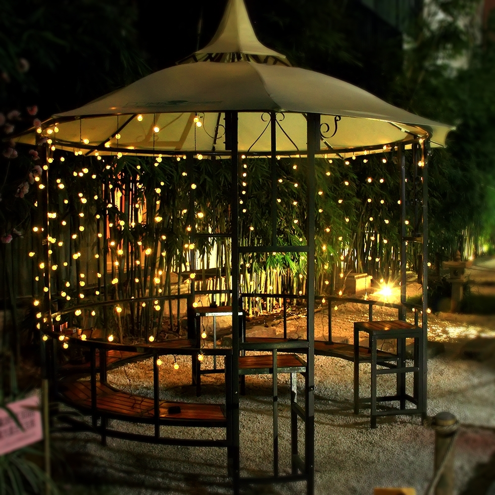 Recent Outdoor String And Patio Lights With Regard To Innoo Tech Solar Outdoor String Lights (View 10 of 20)