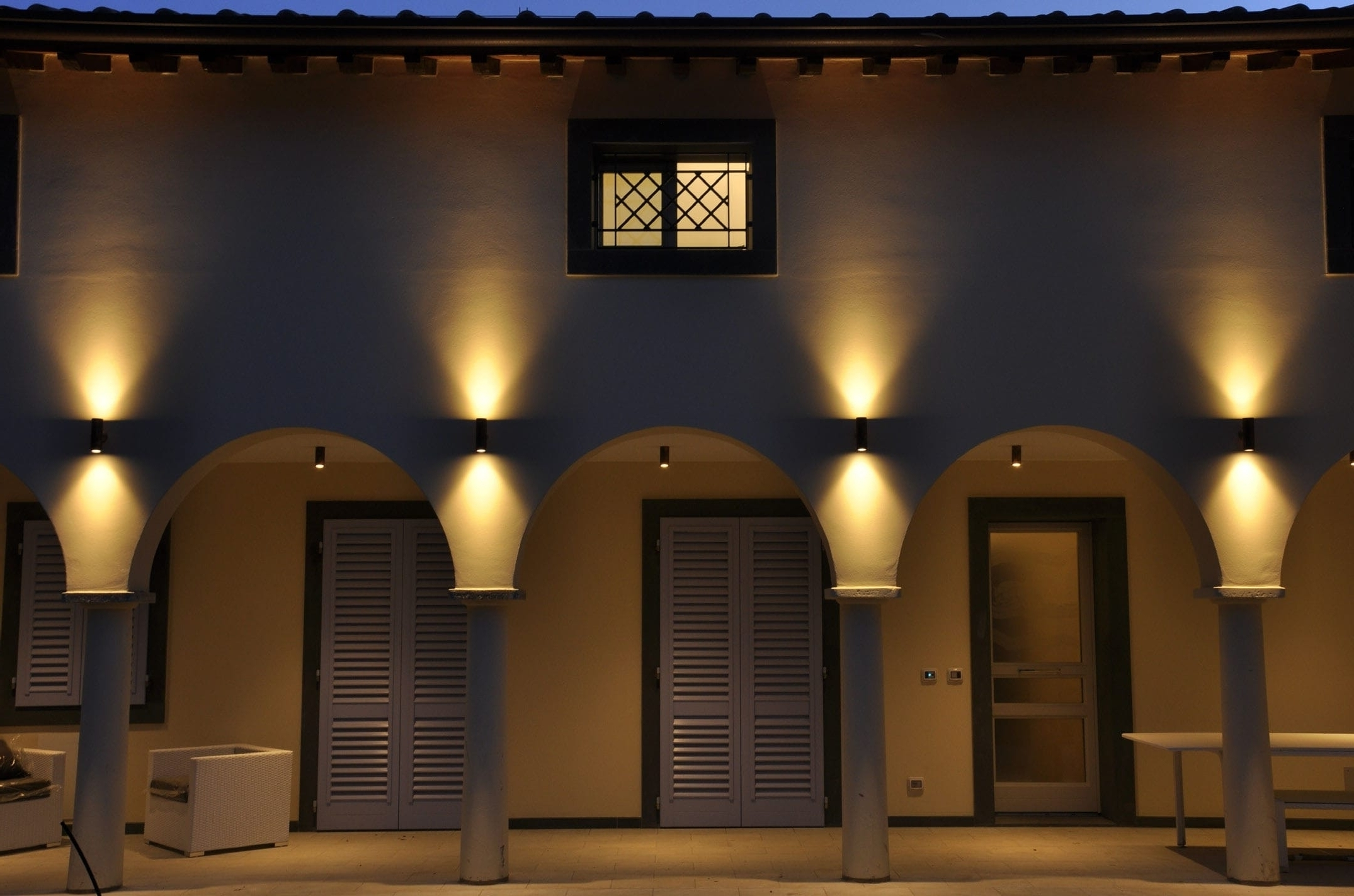 Recent Outdoor Wall Down Lighting Intended For Outdoor : Outdoor Wall Sconce Lighting Belden Place Medium Linden (View 15 of 20)
