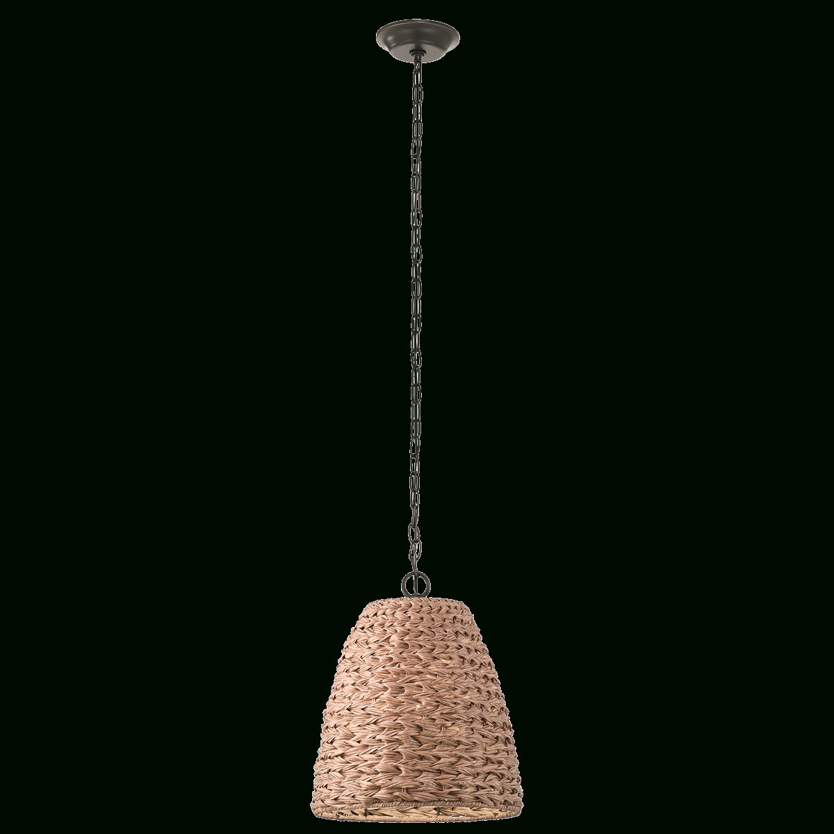 Recent Palisades Wicker 1 Light Outdoor Pendant Oz In Outdoor Pendant Kichler Lighting (View 15 of 20)