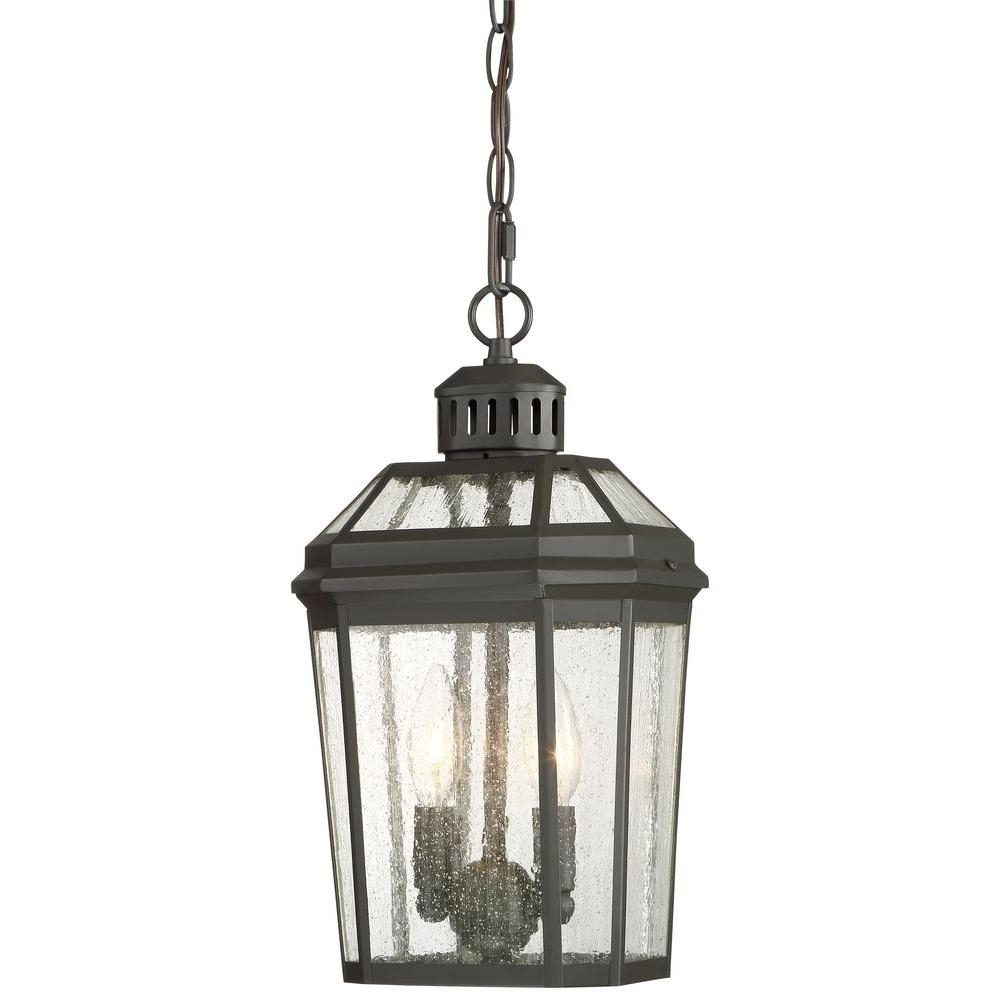 Recent The Great Outdoorsminka Lavery Hawks Point 2 Light Oil Rubbed Pertaining To Oil Rubbed Bronze Outdoor Hanging Lights (View 13 of 20)