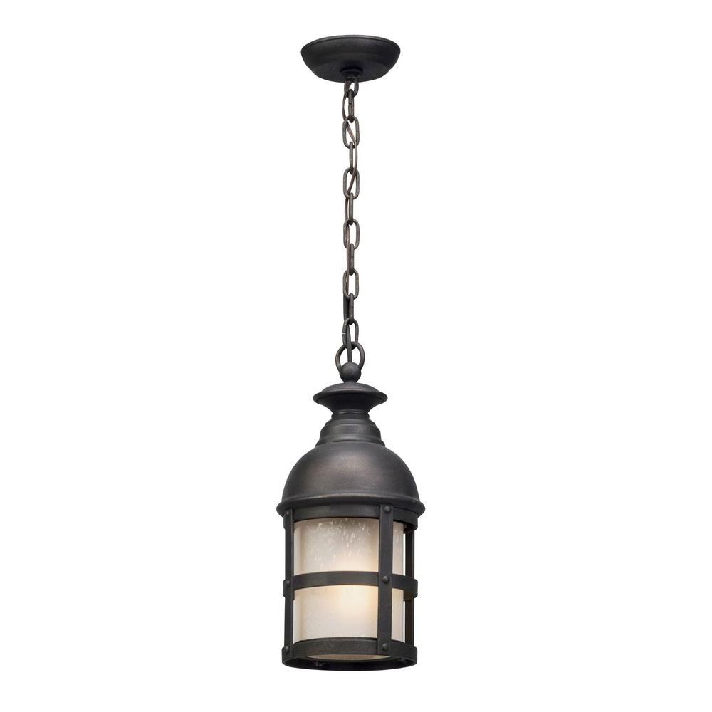 Recent Troy Lighting Webster 1 Light Vintage Bronze Outdoor Pendant F5157 Within Vintage Outdoor Hanging Lights (View 15 of 20)