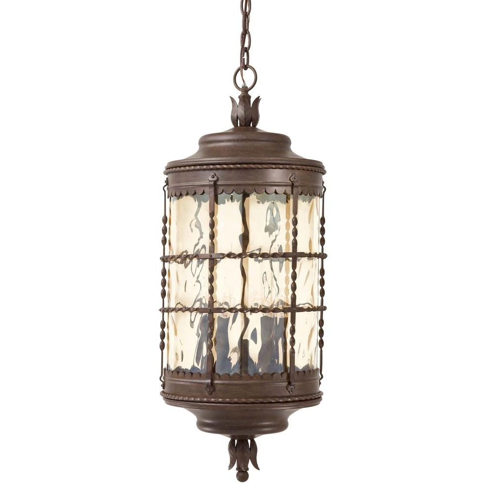 Recent Vintage Outdoor Hanging Lights Pertaining To The Great Outdoorsminka Lavery Mallorca 5 Light Vintage Rust (View 10 of 20)