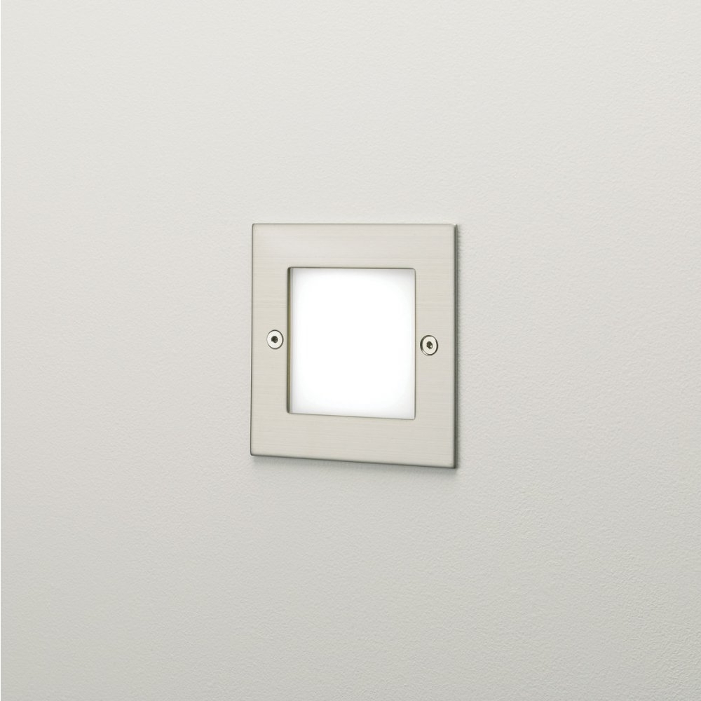 Recessed Outdoor Wall Lighting For Famous Astro Lighting 0947 Kalsa Led Recessed Exterior Wall Light At (View 15 of 20)