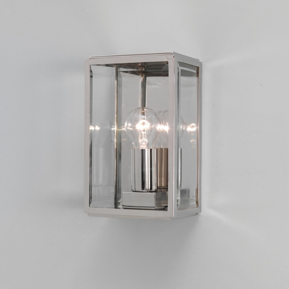 Rectangle Outdoor Wall Lights Within Best And Newest Modern Outdoor Wall Lights: 22 Fascinating Outdoor Wall Lights (View 19 of 20)