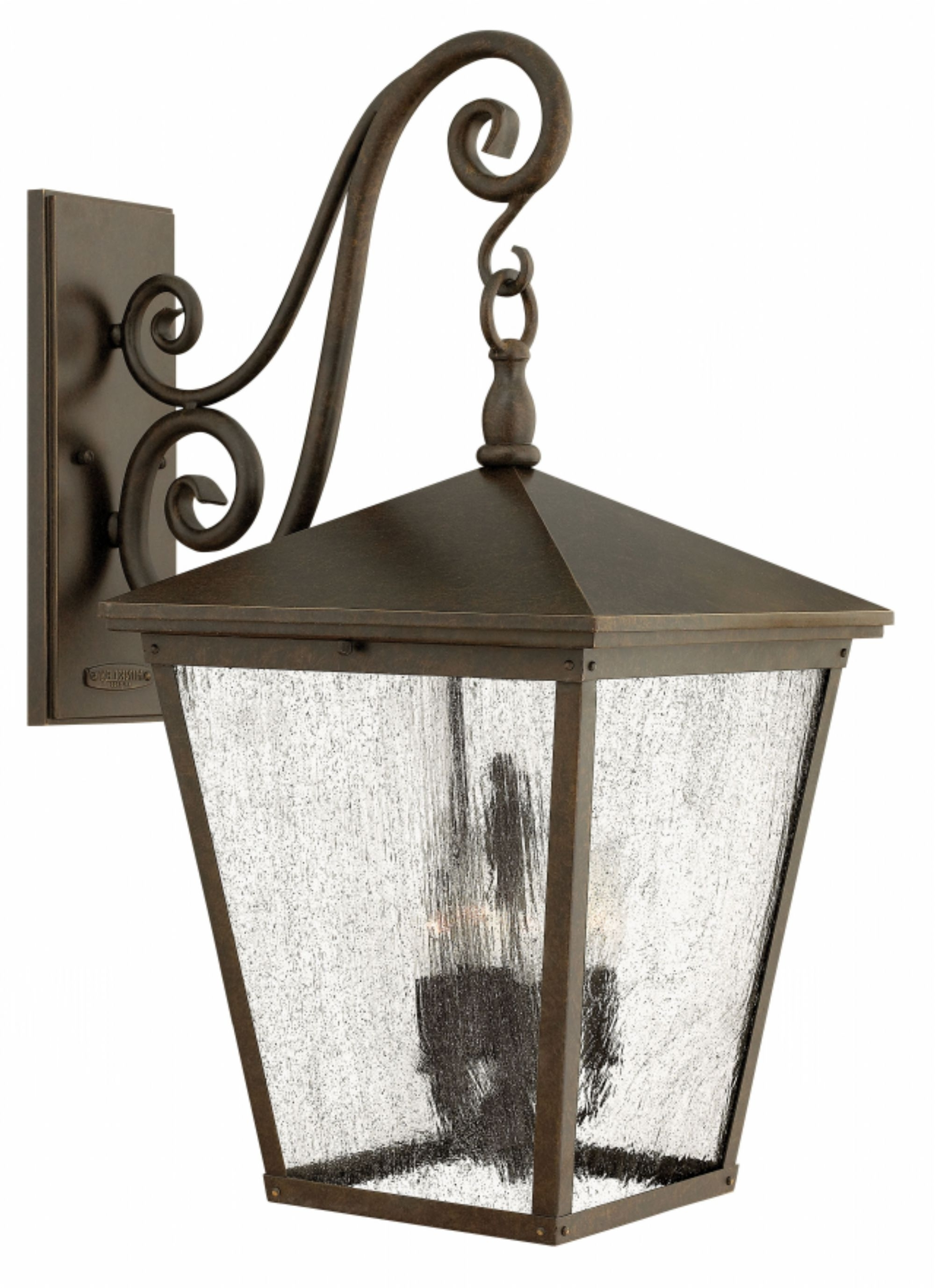 Regency Bronze Trellis > Exterior Wall Mount Throughout 2018 Extra Large Wall Mount Porch Hinkley Lighting (View 10 of 20)