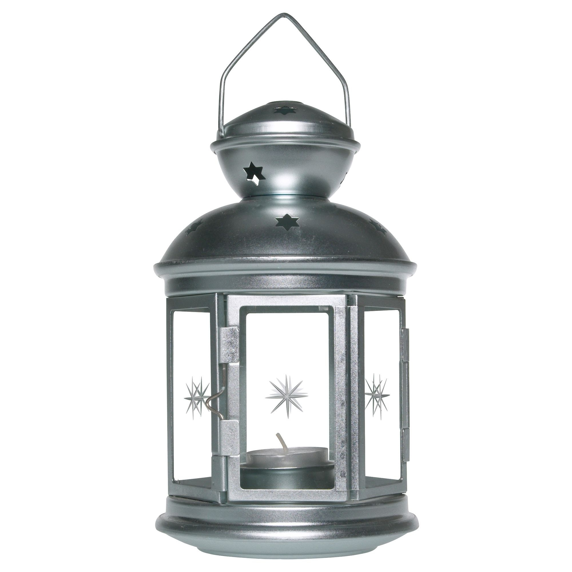 Rotera Lantern For Tealight, Galvanized Indoor/outdoor Galvanized Pertaining To Current Hanging Outdoor Tea Light Lanterns (View 15 of 20)
