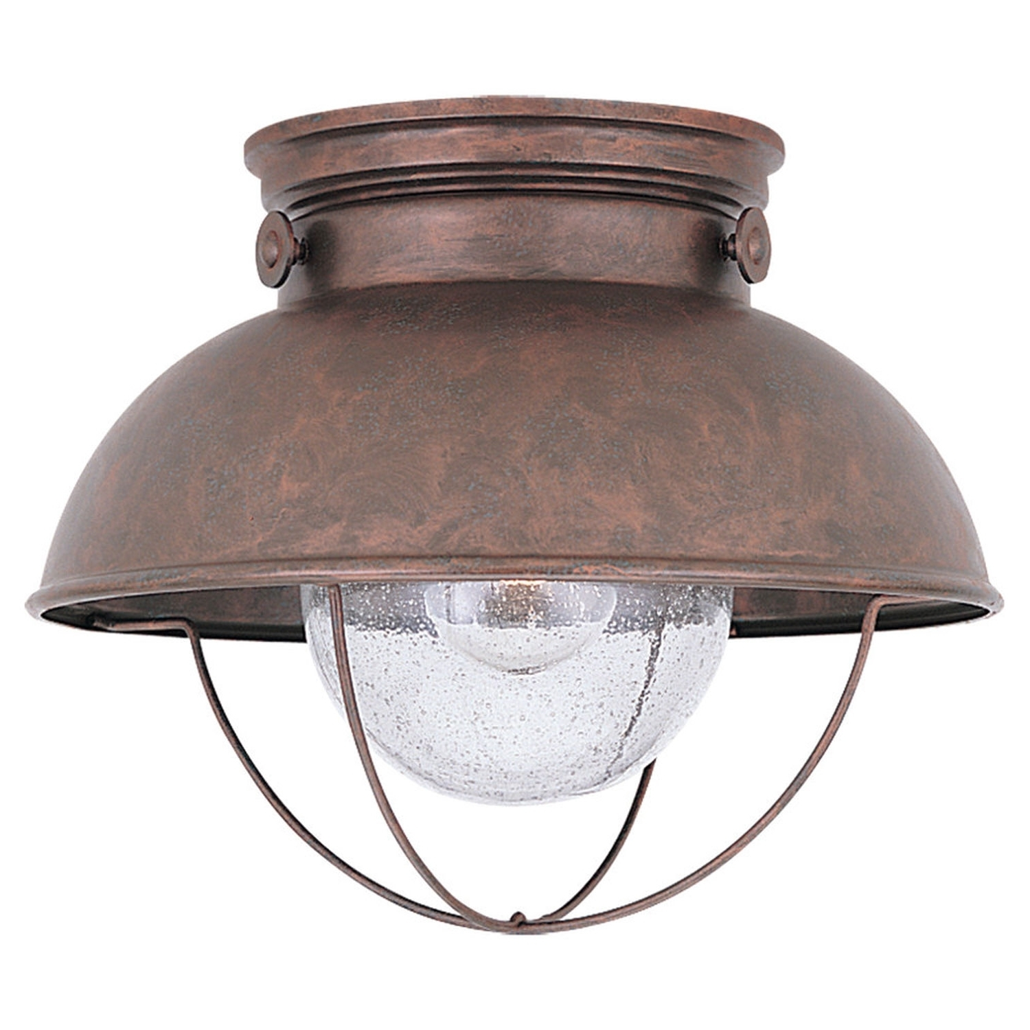 Round Black Finish Motion Sensor Outdoor Ceiling Light • Outdoor Pertaining To Famous Outdoor Ceiling Sensor Lights (View 12 of 20)