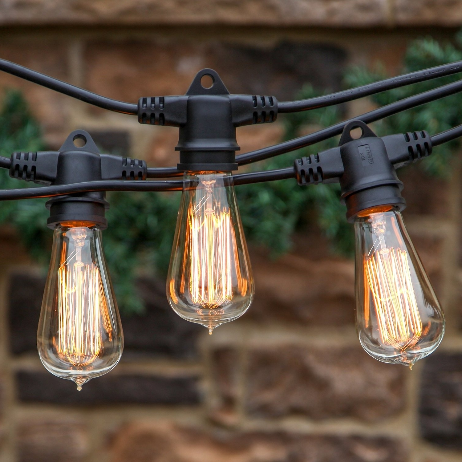 Rustic Landscape Light Bulbs : Landscape Light Bulbs: Spectacular Throughout Well Known Vintage And Rustic Outdoor Lighting (View 3 of 20)