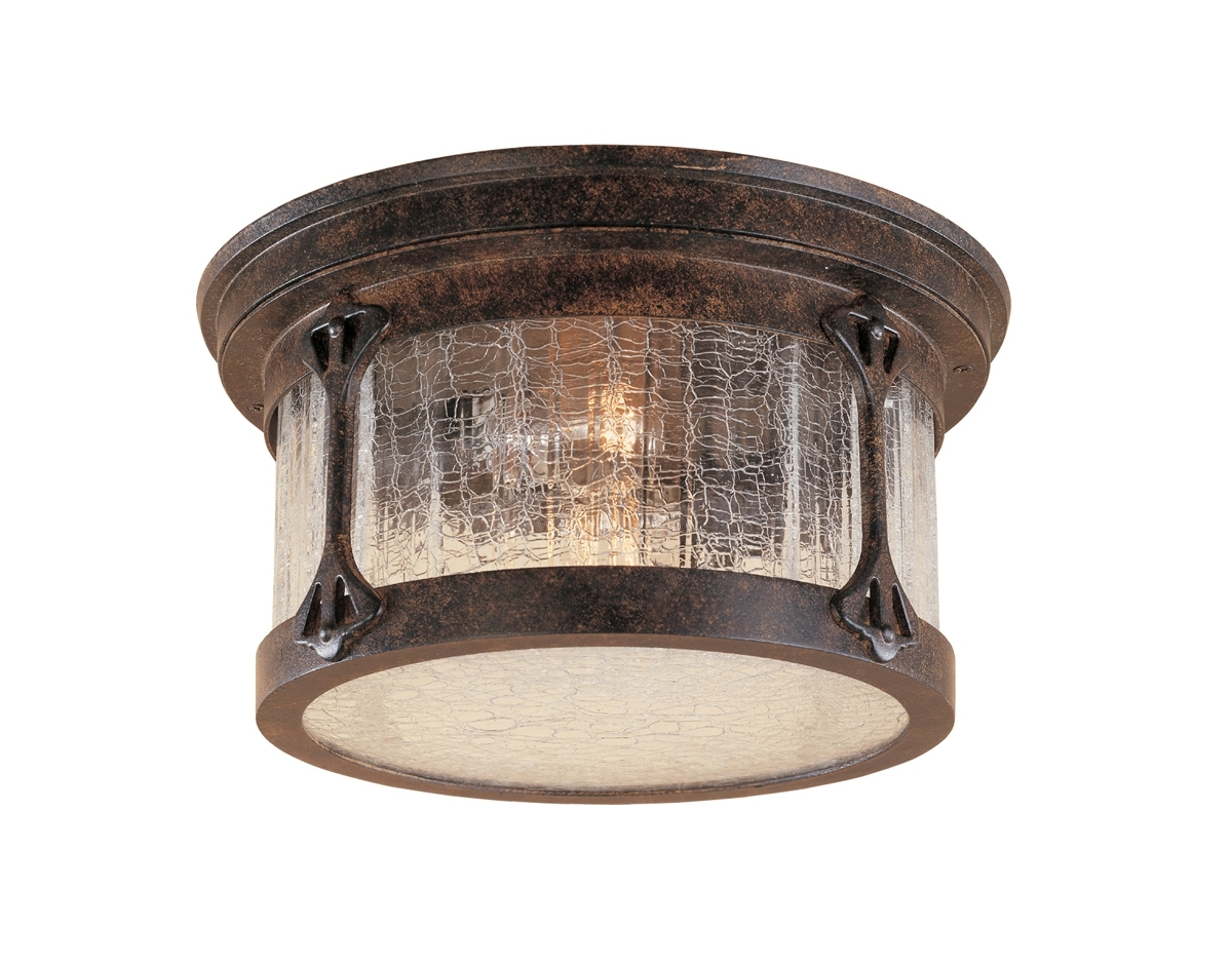 Rustic Outdoor Ceiling Lights Pertaining To Most Recent Lighting : Furniture Exquisite Rustic Ceiling Light Fixtures Lodge (View 14 of 20)