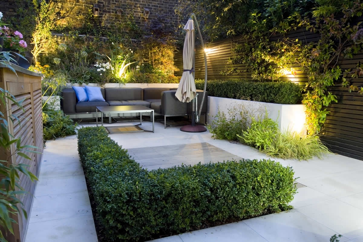 Featured Photo of Rustic Outdoor Lighting For Modern Garden