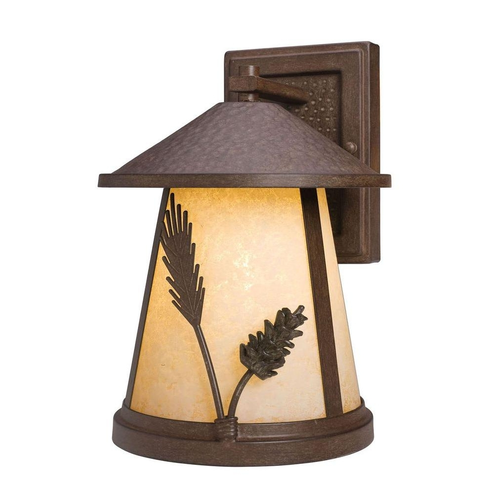Rustic Outdoor Wall Lighting Regarding Most Recently Released Rustic – Outdoor Wall Mounted Lighting – Outdoor Lighting – The Home (View 15 of 20)