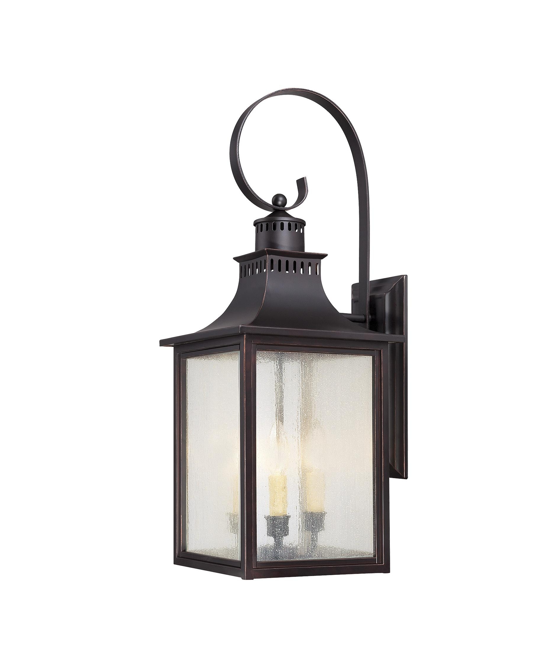 Savoy House 5 259 Monte Grande 10 Inch Wide 3 Light Outdoor Wall With Most Recently Released Outdoor Wall Lighting With Seeded Glass (View 6 of 20)