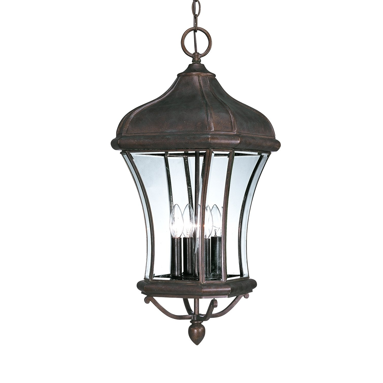 Savoy House 5 3806 40 4 Light Realto Hanging Outdoor Pendant (View 19 of 20)