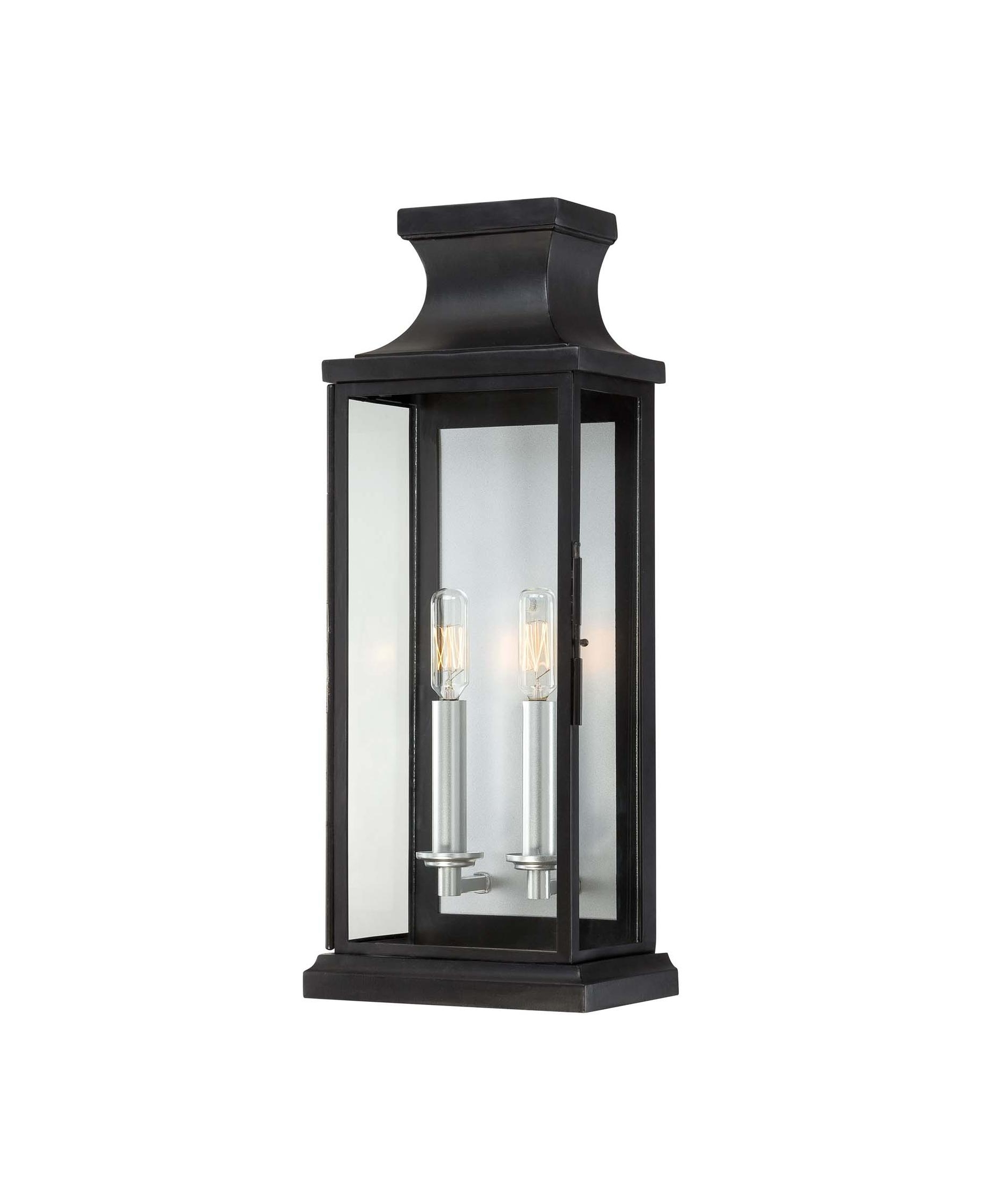 Savoy House 5 5911 Bk Brooke 8 Inch Wide 2 Light Outdoor Wall Light For Newest Traditional Outdoor Ceiling Lights (View 20 of 20)