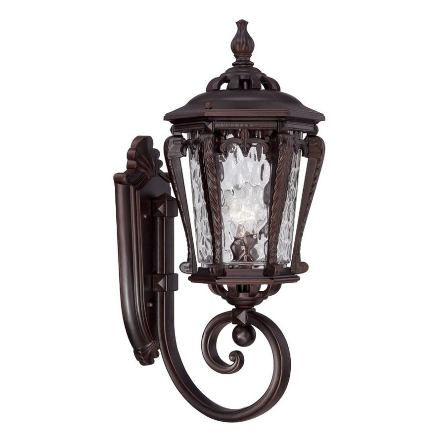 Shop Acclaim Lighting Stratford 23 In H Architectural Bronze Medium Within Most Up To Date Acclaim Lighting Outdoor Wall Lights (View 15 of 20)