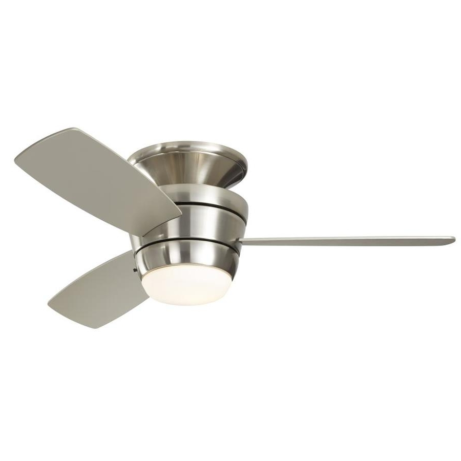 Shop Ceiling Fans At Lowes Intended For Most Up To Date Outdoor Ceiling Fans With Flush Mount Lights (View 18 of 20)