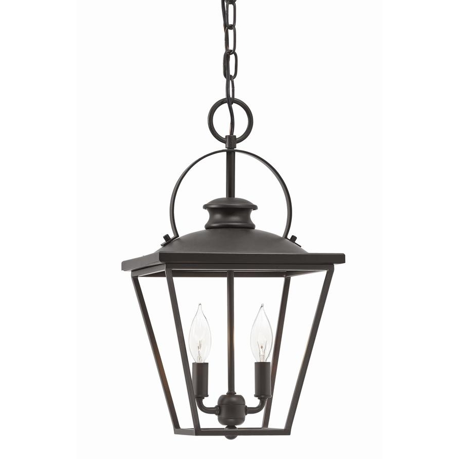 Shop Kichler Arena Cove 10 In Olde Bronze Country Cottage Single In Well Liked Outdoor Pendant Kichler Lighting (View 20 of 20)
