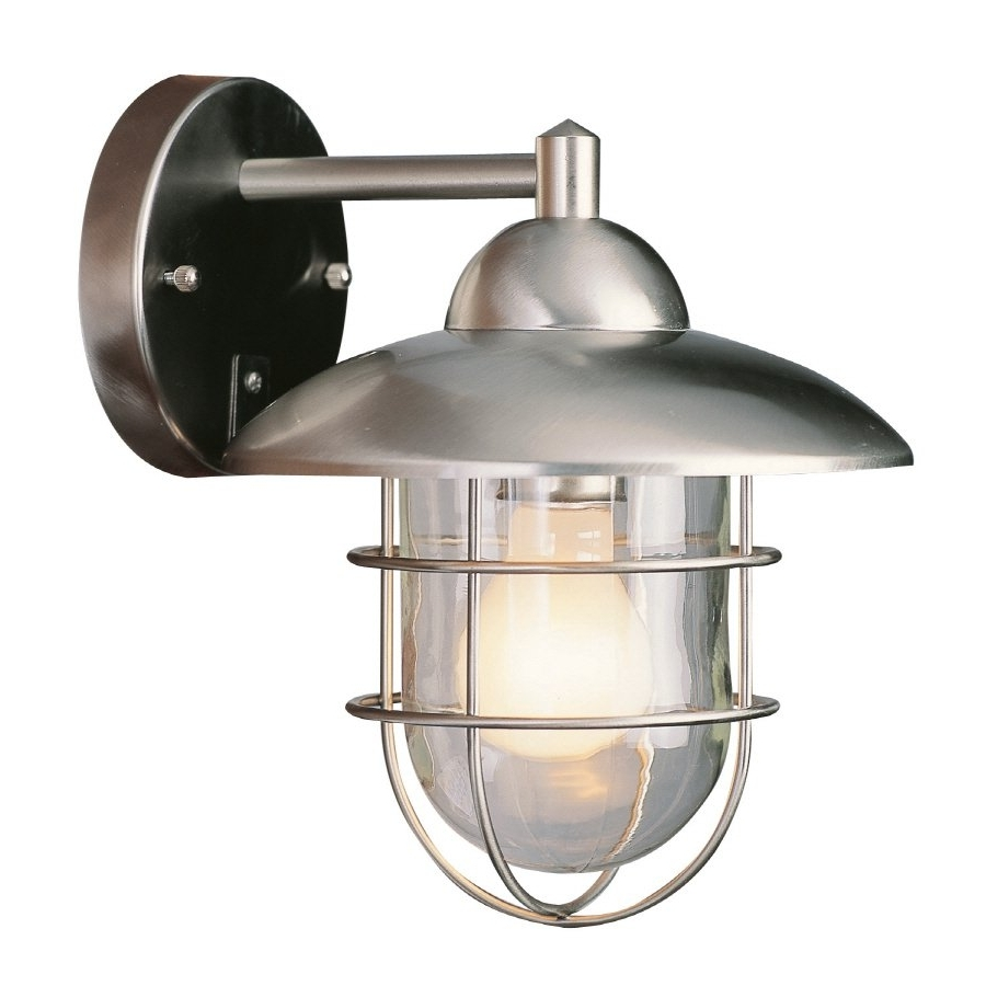 Silver Outdoor Wall Lights In Most Current Light : Copper Outdoor Wall Mounted Lighting The In Proportions X (View 9 of 20)