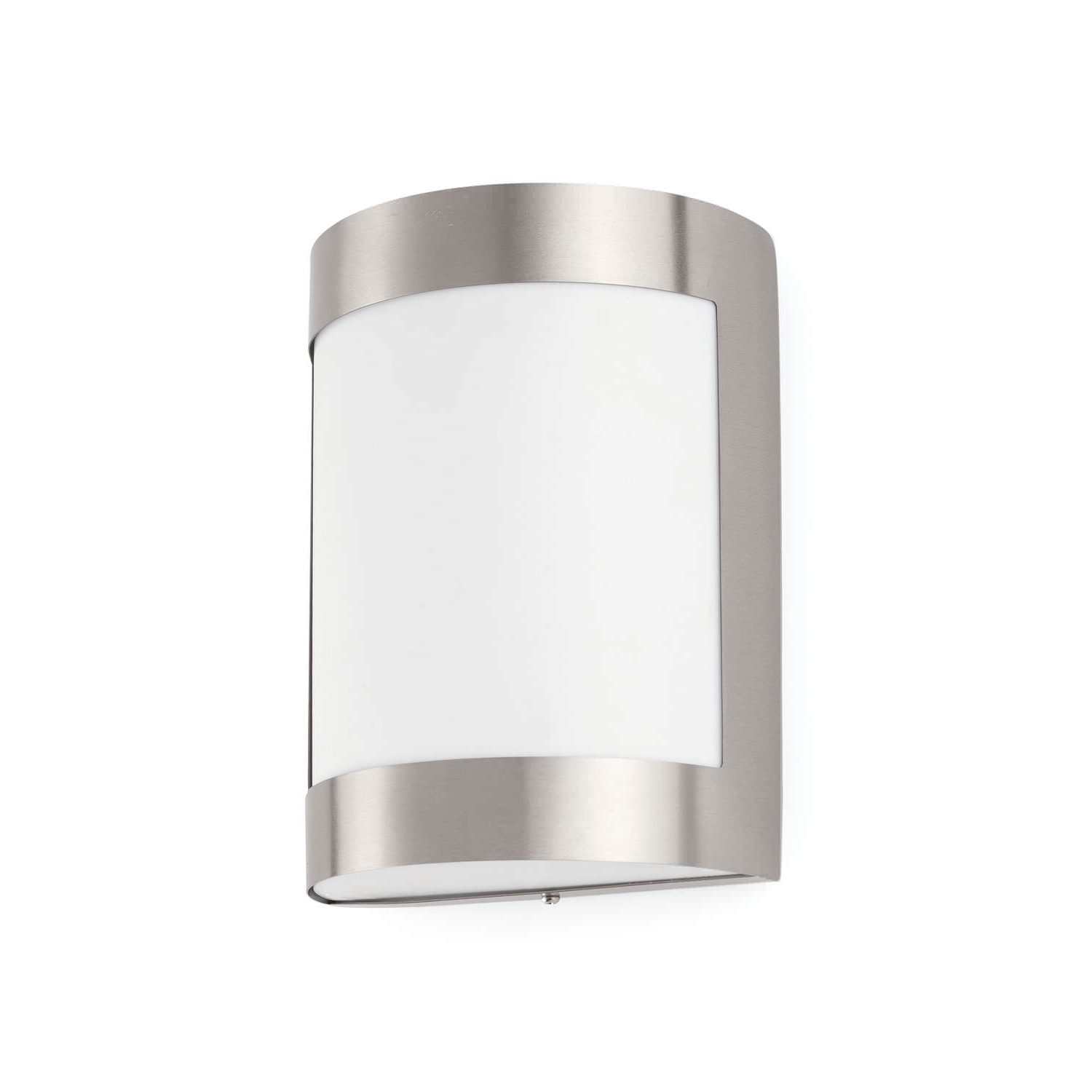 Silver Outdoor Wall Lights Inside Popular Contemporary Wall Light / Outdoor / Stainless Steel / Polycarbonate (View 19 of 20)