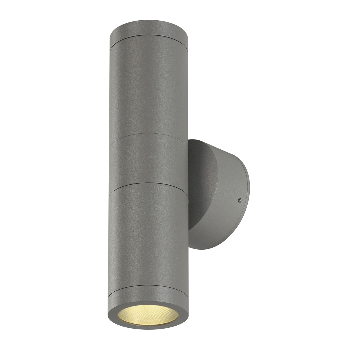Silver Outdoor Wall Lights With Current Astina, Outdoor Wall Light, Tcr50 Se, Ip44, Round, Up/down, Silver (View 16 of 20)