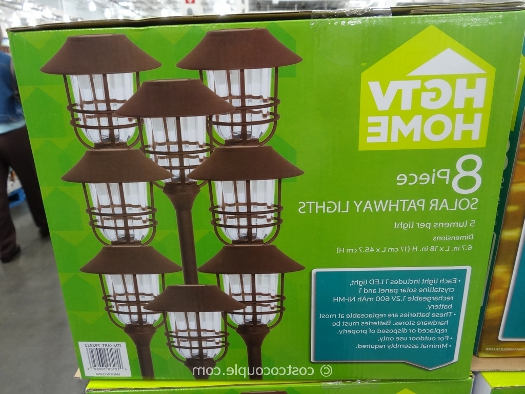 Solar Garden Lights At Costco Intended For Favorite Hgtv Large Solar Pathway Lights (View 16 of 20)