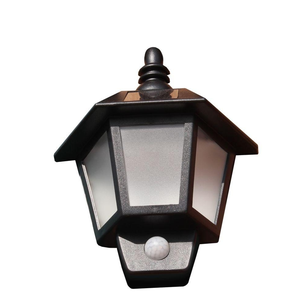 Solar Outdoor Wall Light Fixtures Pertaining To Current Light : Solar Barn Light Gs Wall Mount Powered Mounted With Panel (View 11 of 20)
