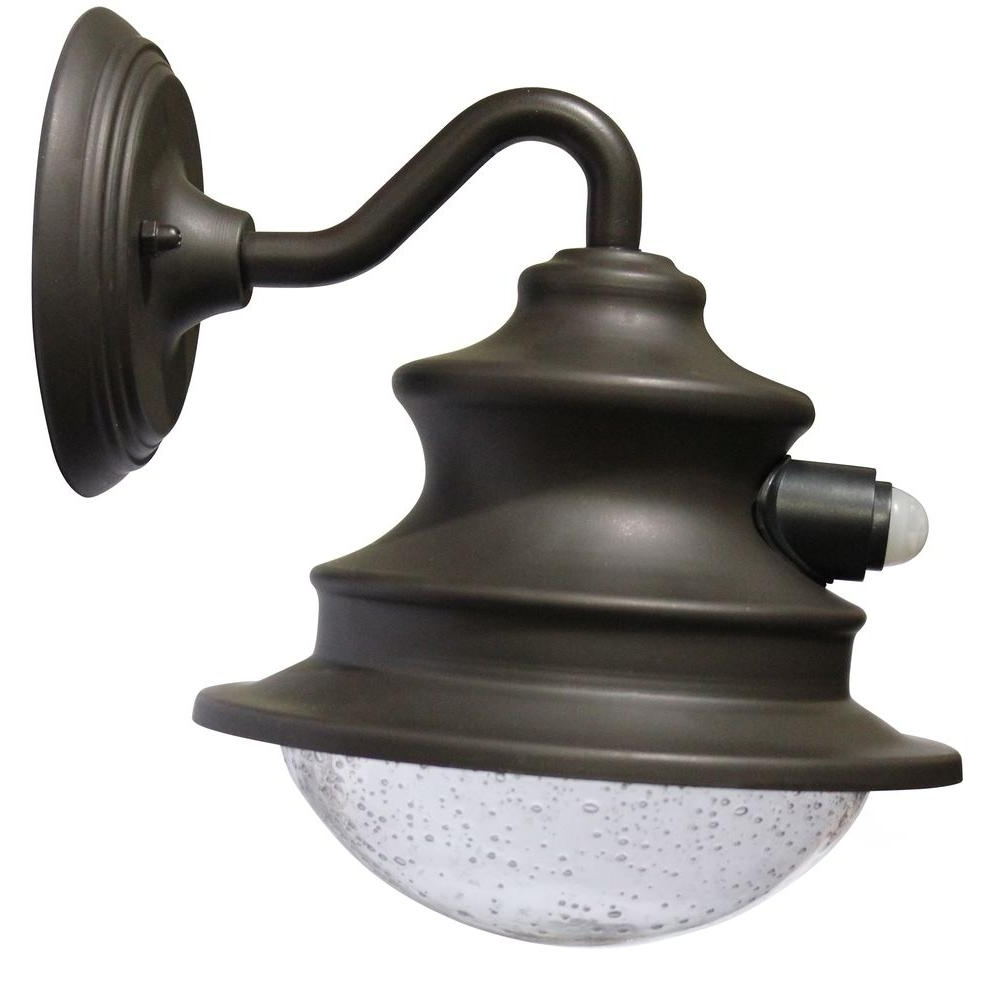 Solar Outdoor Wall Light Fixtures Within Widely Used Solar – Outdoor Wall Mounted Lighting – Outdoor Lighting – The Home (View 15 of 20)