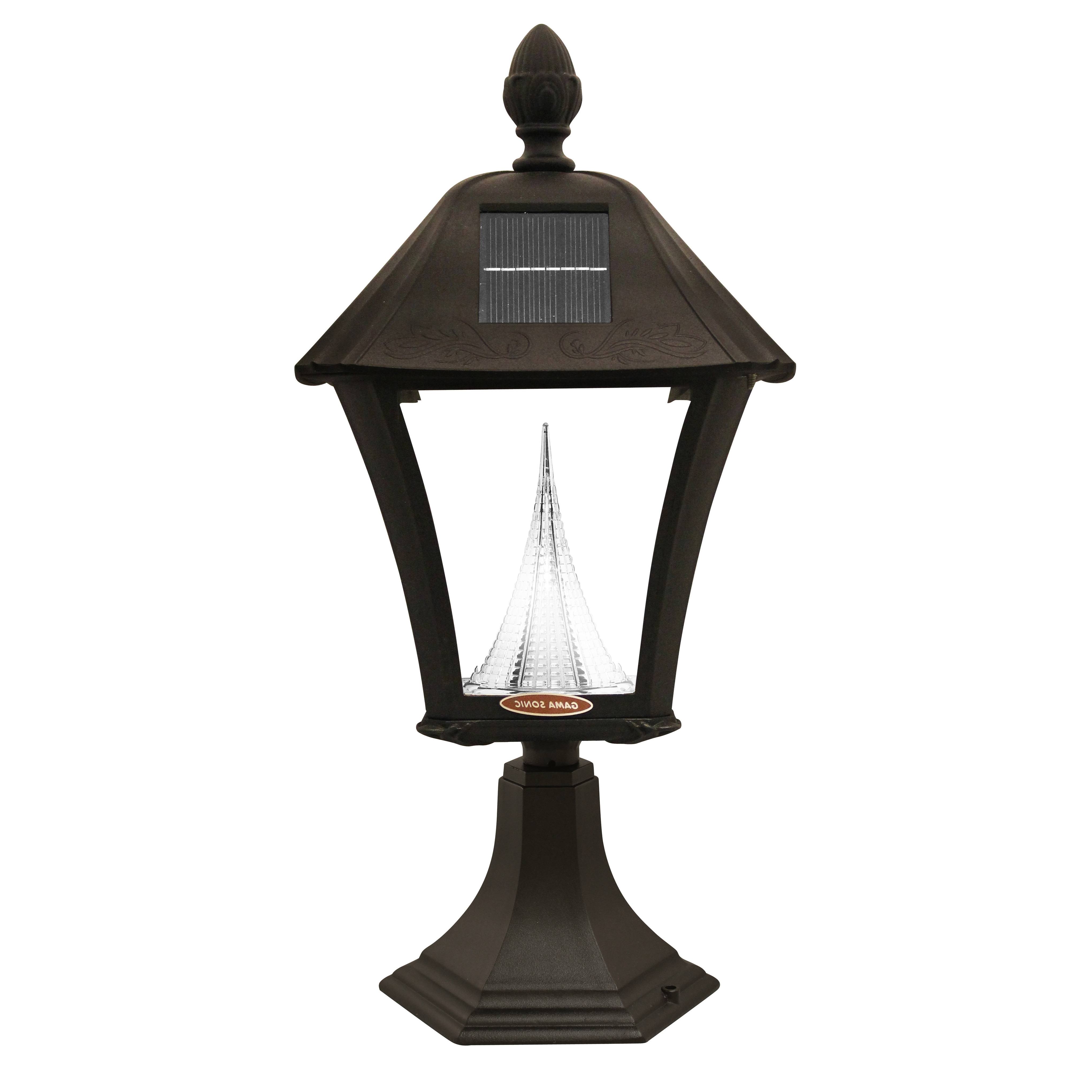 Solar Powered Outdoor Wall Lighting Wayfair Baytown 1 Light Lantern Throughout Current Battery Operated Outdoor Lights At Wayfair (View 17 of 20)